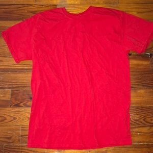 plain red tshirt